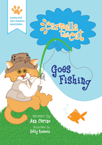 Carmella the Cat Goes Fishing