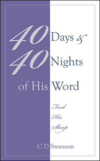 40 Days & 40 Nights of His Word