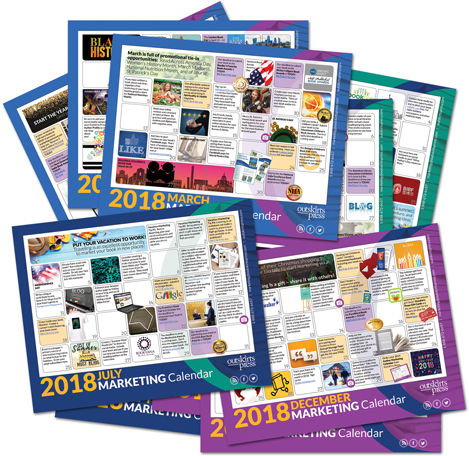 2014 Marketing Calendar