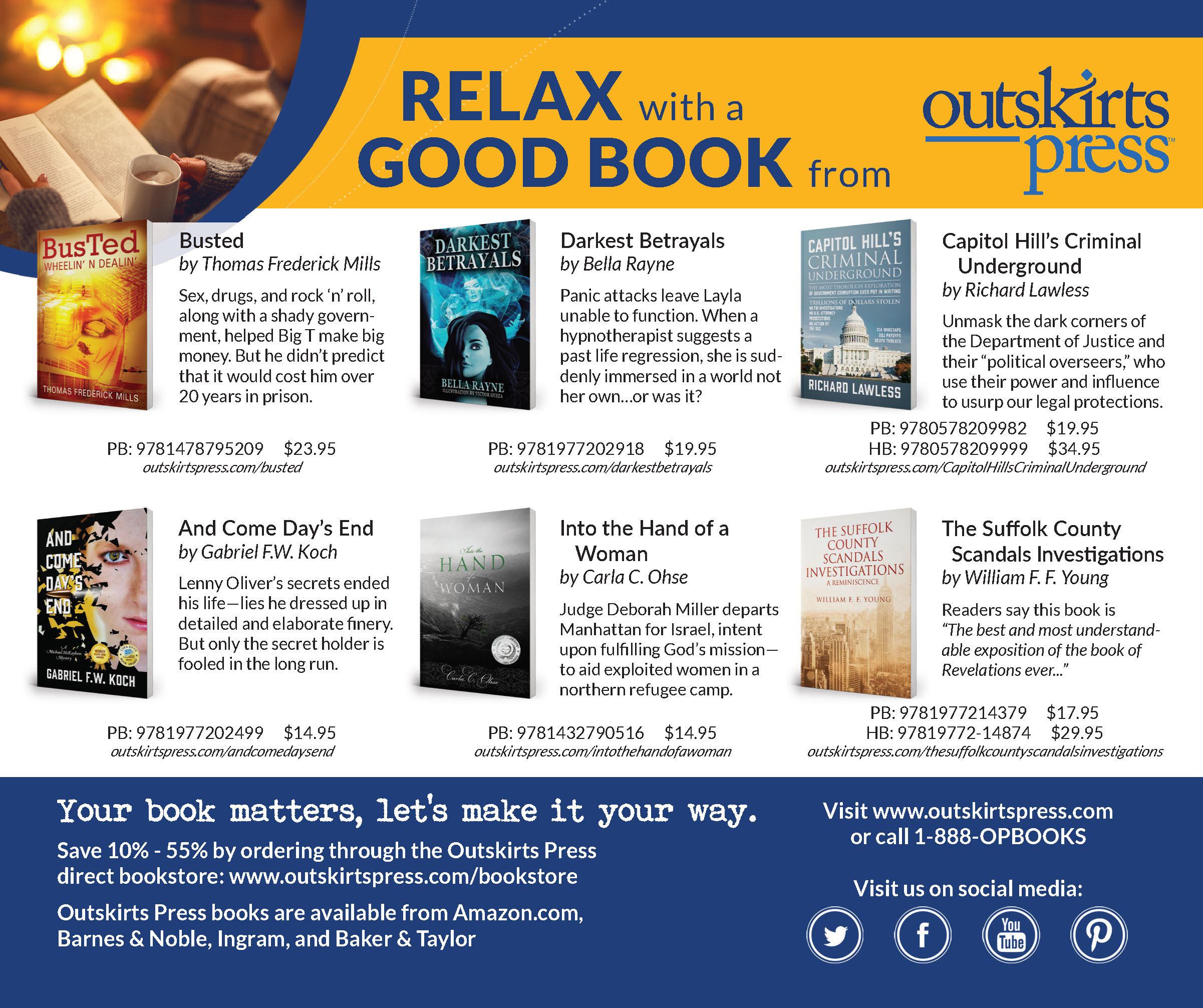 self publishing oc-op advertising
