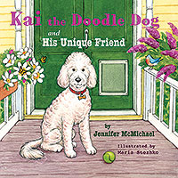 Kai the Doodle Dog and His Unique Friend