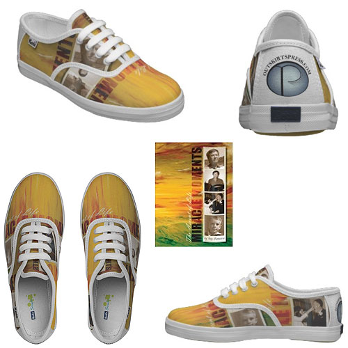 These custom shoes come in a wide variety of both adult or children's sizes.