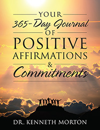 Your 365-Day Journal of Positive Affirmations & Commitments
