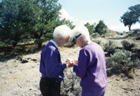 Grace Ralston and Florence Ralston Schnurr