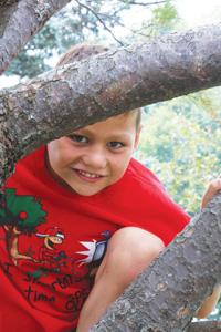 Garett Derenge Age 8