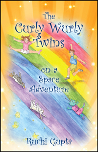 The Curly Wurly Twins on a Space Adventure