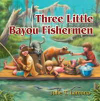 Three Little Bayou Fisherman book cover